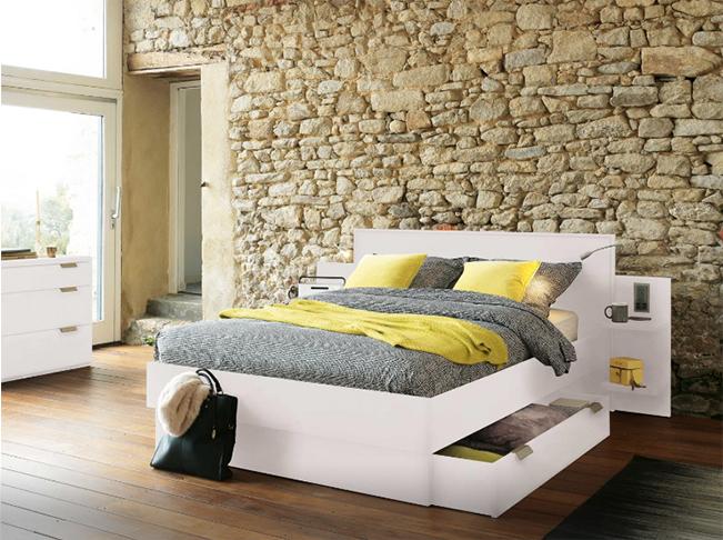 Lit / Tête de lit