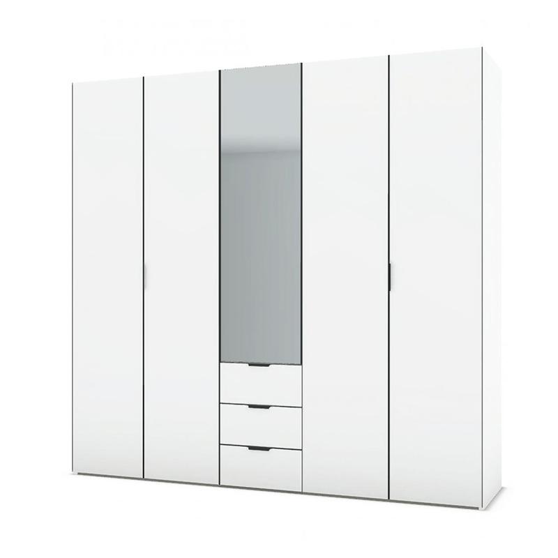 Celio - Perla armoire L250 Portes battantes